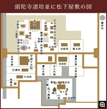 松下屋敷の図