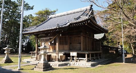 津毛利神社